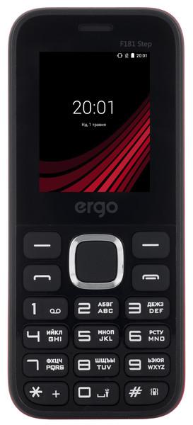 Моб.телефон Ergo F181 Step Dual Sim (чорний)
