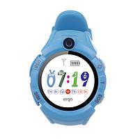 Смарт годинник ERGO GPS Tracker Color C010 - Дитячий трекер (Blue), фото 6