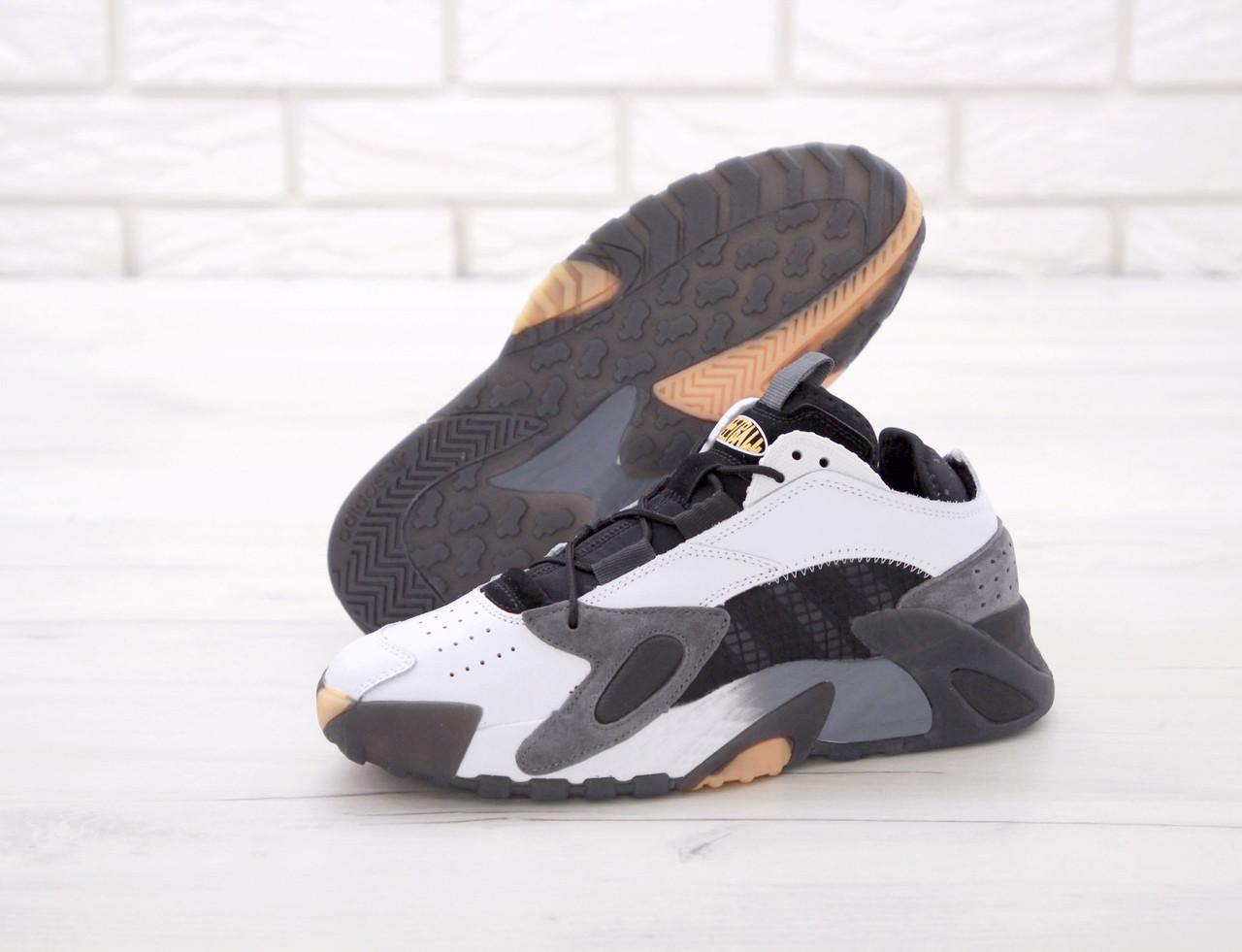 Мужские кроссовки Adidas StreetBall Black Grey, мужские кроссовки адидас стритбол (45 размер в наличии)