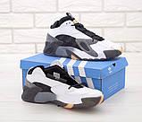 Мужские кроссовки Adidas StreetBall Black Grey, мужские кроссовки адидас стритбол (45 размер в наличии), фото 3