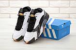 Мужские кроссовки Adidas StreetBall Black Grey, мужские кроссовки адидас стритбол (45 размер в наличии), фото 2