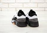 Мужские кроссовки Adidas StreetBall Black Grey, мужские кроссовки адидас стритбол (45 размер в наличии), фото 7