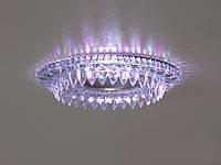 Встраиваемый светильник с светодиодной подсветкой 8121WH+PK, фото 1