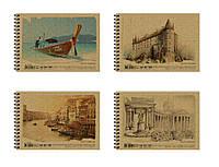 Альбом для рисования на спирали 40 листов, 120 г/м., A5, KRAFT, AR5740