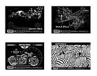 Альбом для рисования на спирали, 30 листов, 120 г/м., A4, BL4130