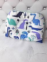 Подушка для новорожденных Динозавры
