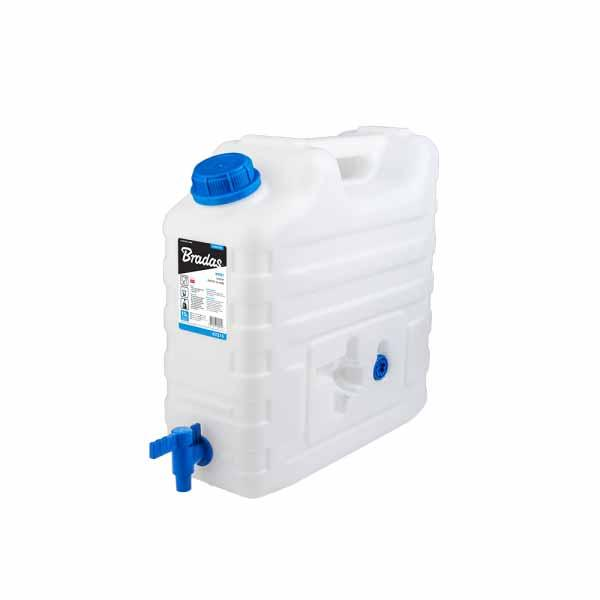Канистра для воды, 15л, с краном, KTZ15 Bradas лидер на рынке ЕС