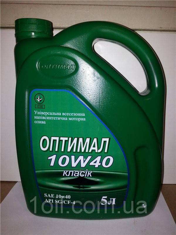 Масло моторное Оптимал Классик 10w40 5L