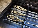 """Ексклюзивний набір для шашлику """"Кабан"""", шампура+чарки+ніж+вилка, фото 5"""