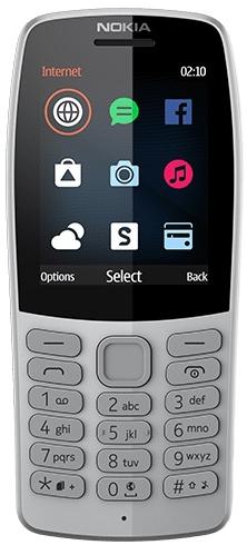Моб.телефон Nokia 210 grey