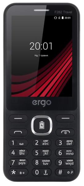 Моб.телефон ERGO F282 Travel Dual Sim (чорний)