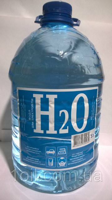 Вода дистиллированая 5л