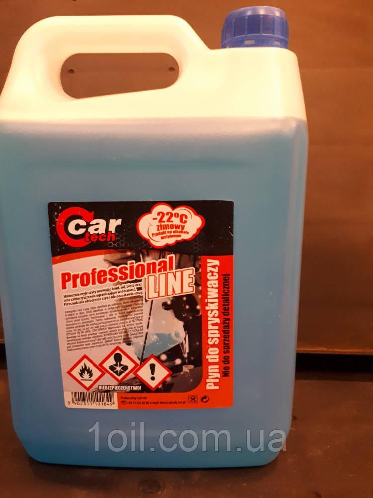 Жидкость омывателя   стекла готовая GARTECH  -22c   5л