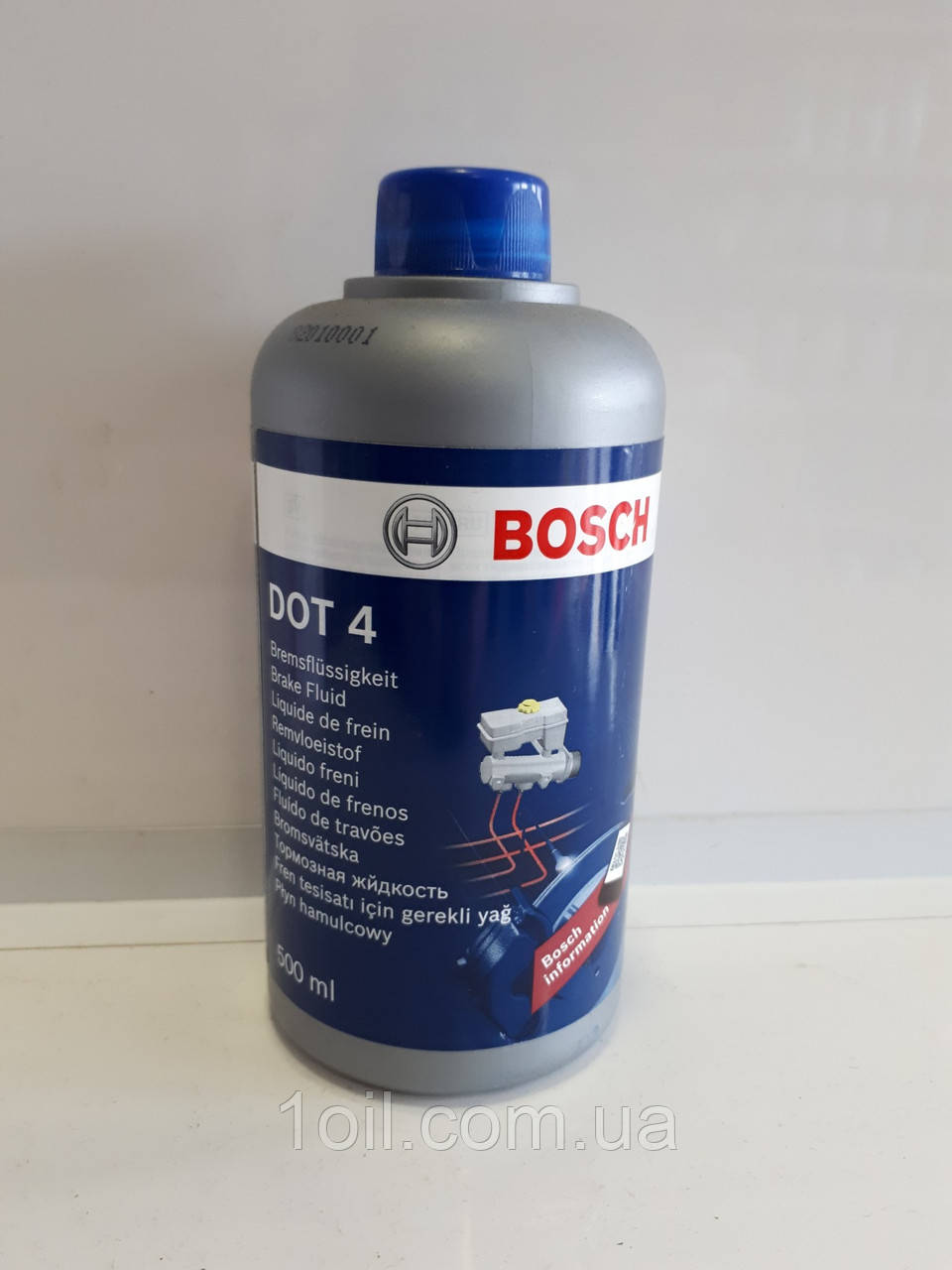 Тормозная жидкость Bosh DOT-4 0,5л
