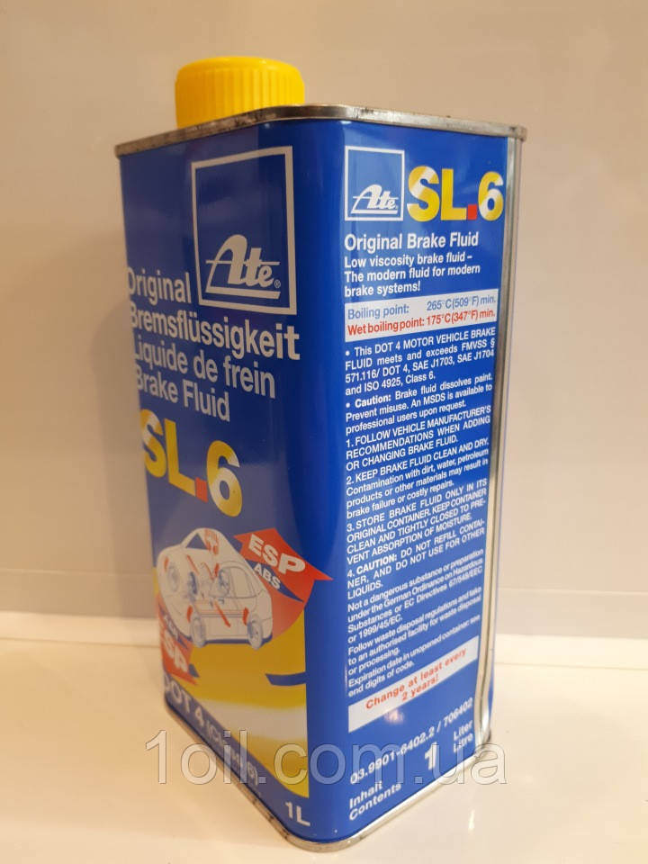 Тормозная жидкость   ATE  для систем ESP  ASR  03.9901-6402.2    1л