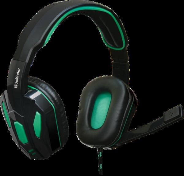 Гарнитура IT DEFENDER (64122)Warhead G-275 2.5m зелено-черный
