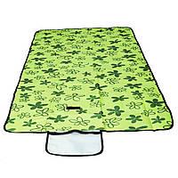 Коврик для пляжа, цвет - зеленый (145 х 80 см), коврик для пикника, коврик на пляж, Разные товары для туризма и отдыха