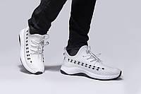 Белые кроссовки, хорошее качество р:41(26)см