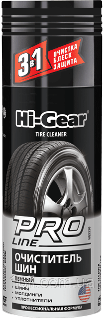 Hi-Gear Кондиционер-очиститель для шин, спрей 340 мл