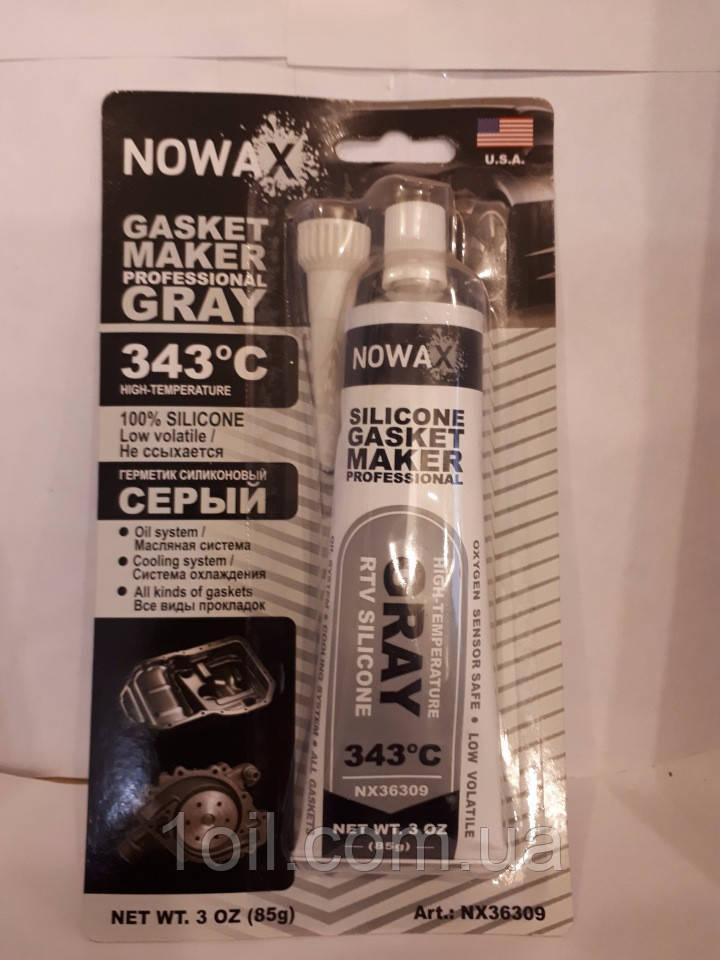 Герметик сірий Novax NX 36309 +343C 85гр