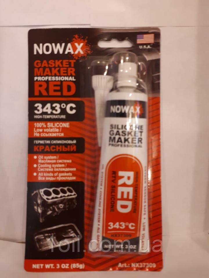 Герметик червоний Novax NX 37309 +343C 85гр