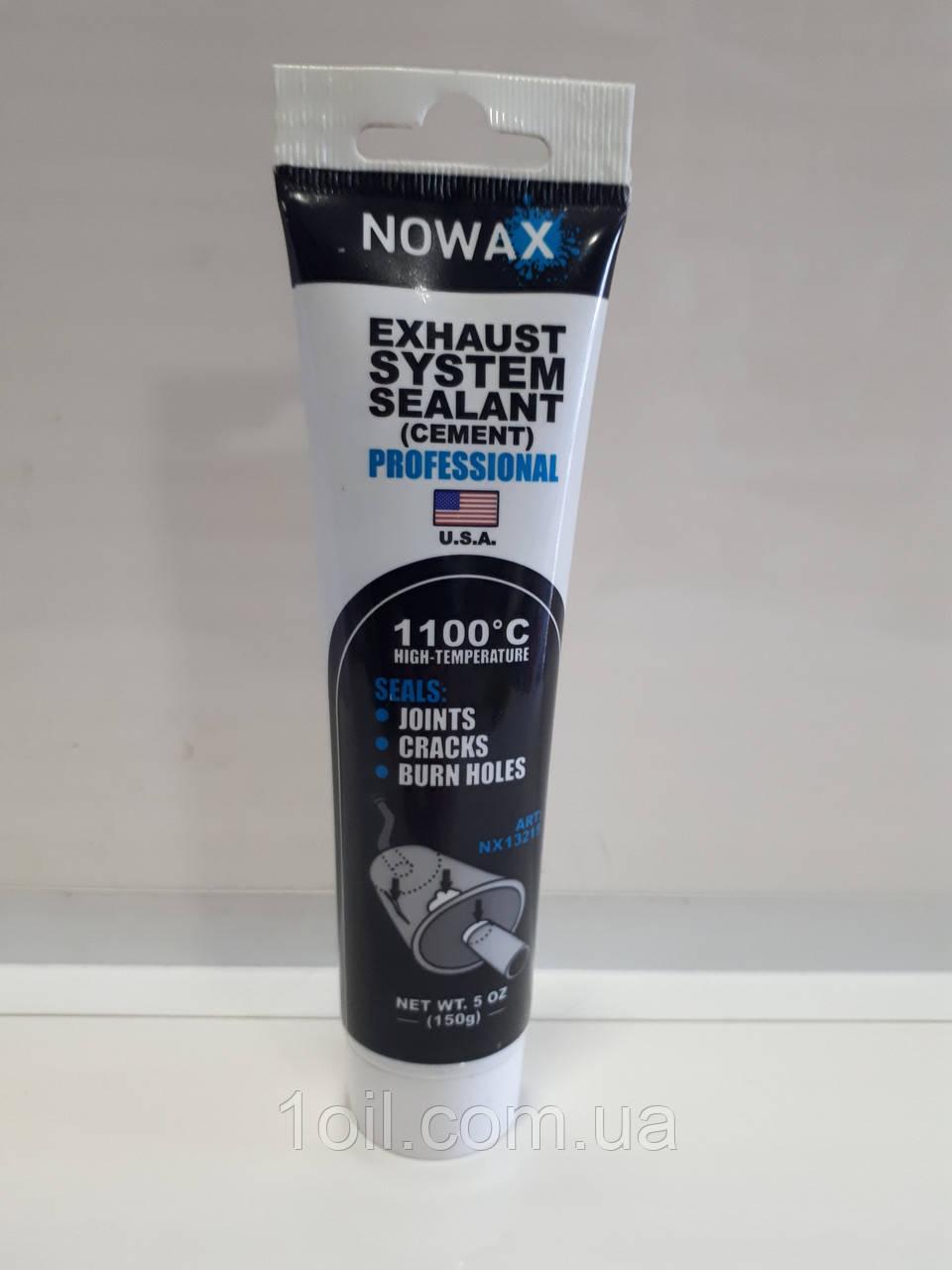 NOWAX Високотемпературный керамічний герметик +1100⁰С 150гр NX13215