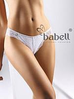 Жіночі бавовняні трусики Babell 068 білі