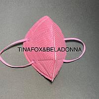 Маска защитная универсальная, розовая  1 шт