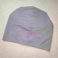 Детская весенняя шапочка 6-18 месяцев размер 44-48