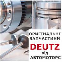 Гайка стальная шестигранная с внутренним диаметром 10 мм Deutz 01144673