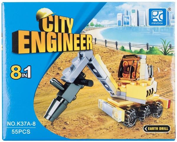 Конструктор MINDBOX CITY ENGINEER в ассорт.