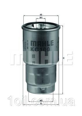 Фильтр топливный KNECHT KC100D