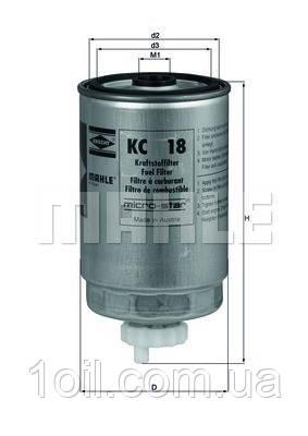 Фільтр паливний KNECHT KC18