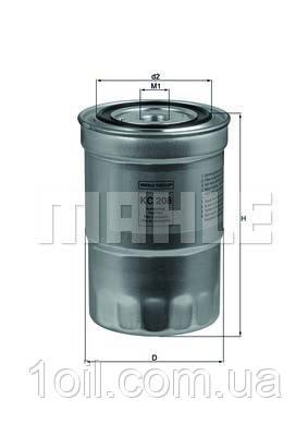 Фильтр топливный KNECHT KC208