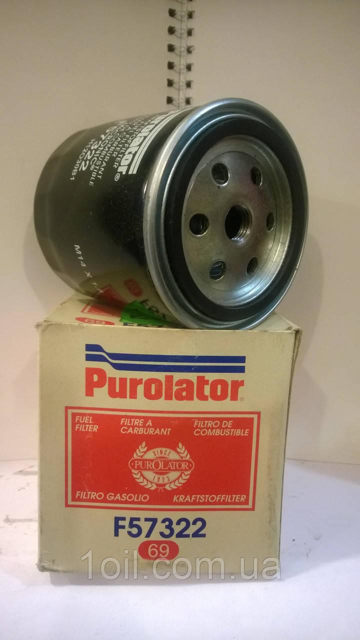Фильтр топливный PUROLATOR F57322 (аналог KC22)