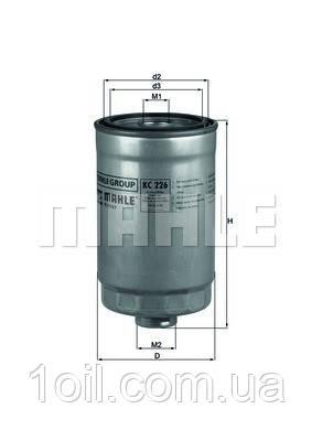 Фильтр топливный KNECHT KC226