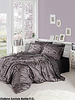 Комплект постельного белья сатин First Choice Calisto Leylak