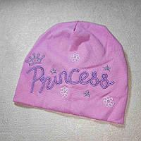 Детская шапочка весна осень размер 46-50 1-3 года