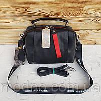 Женская кожаная сумка трансформер на два отделения Polina & Eiterou, фото 5