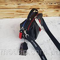 Женская кожаная сумка трансформер на два отделения Polina & Eiterou, фото 8