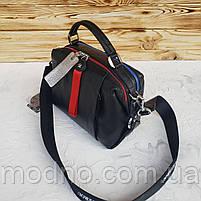Женская кожаная сумка трансформер на два отделения Polina & Eiterou, фото 6