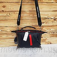 Женская кожаная сумка трансформер на два отделения Polina & Eiterou, фото 9