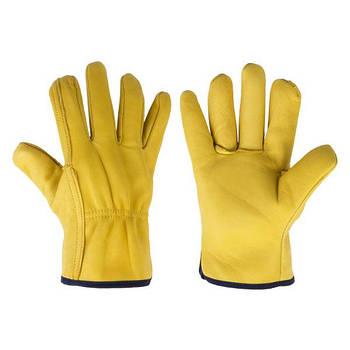 Перчатки защитные CORK TERM из козьей кожи на подкладке, блистер, размер 10,5, RWCT105 Bradas лидер на рынке ЕС