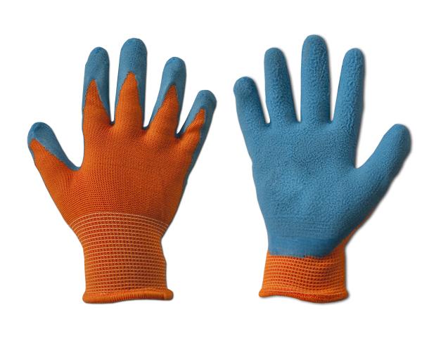 Перчатки защитные ORANGE латекс, размер 6, RWDOR6 Bradas лидер на рынке ЕС