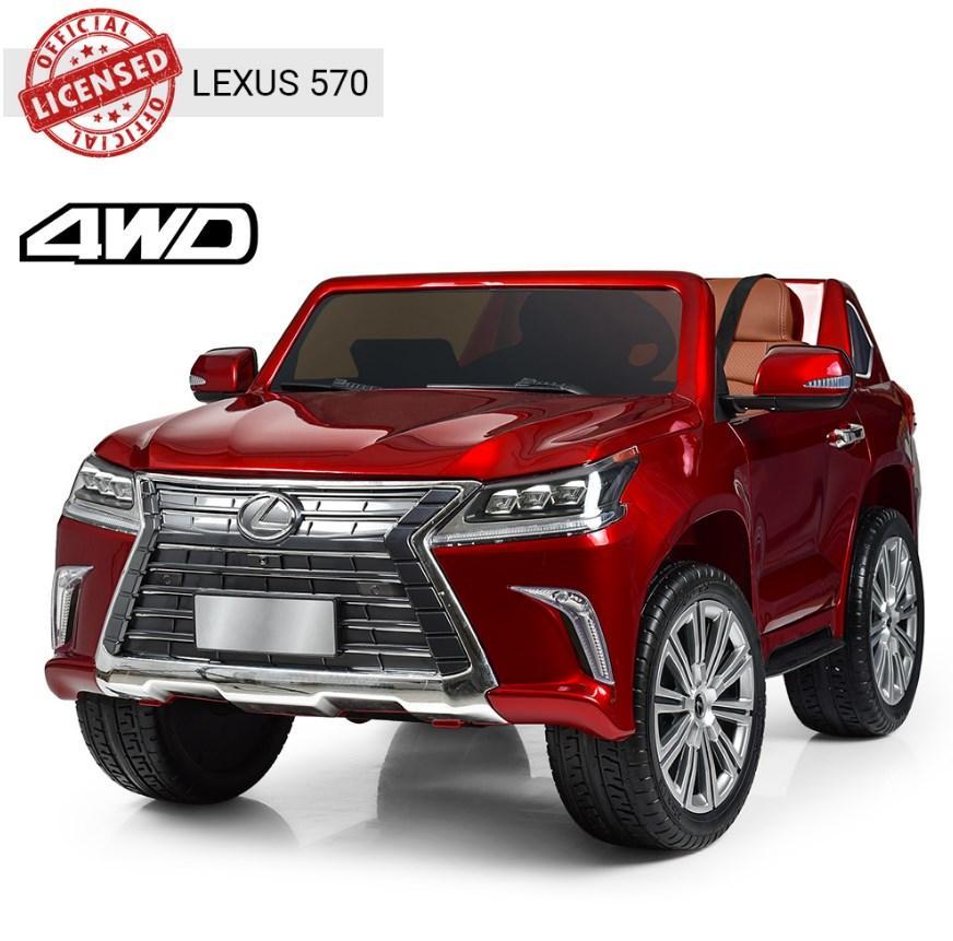 Детский двухместный электромобиль Lexus M3906(MP4)EBLR-1 красный