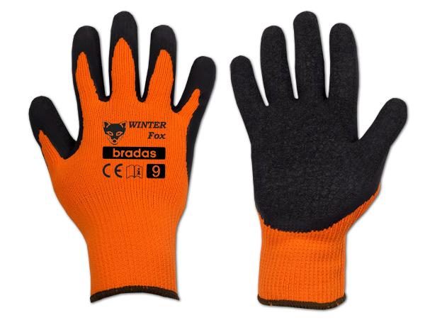 Перчатки защитные WINTER FOX латекс, размер 11, RWWF11 Bradas лидер на рынке ЕС