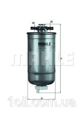 Фильтр топливный KNECHT KL147D