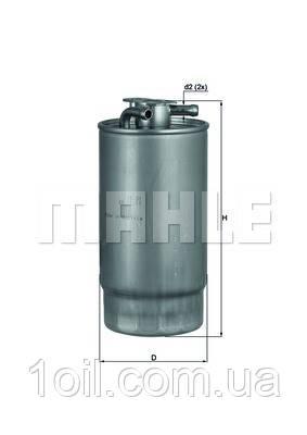 Фильтр топливный KNECHT KL160/1