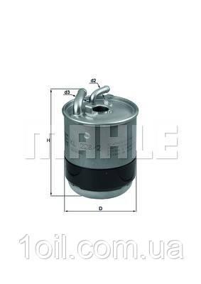 Фільтр паливний KNECHT KL228/2D