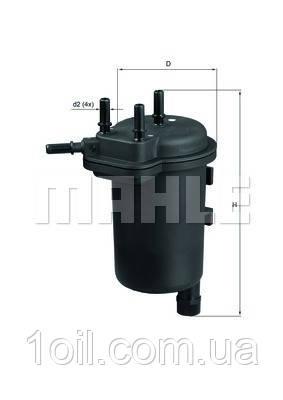 Фильтр топливный KNECHT KL430 (замена KL631)
